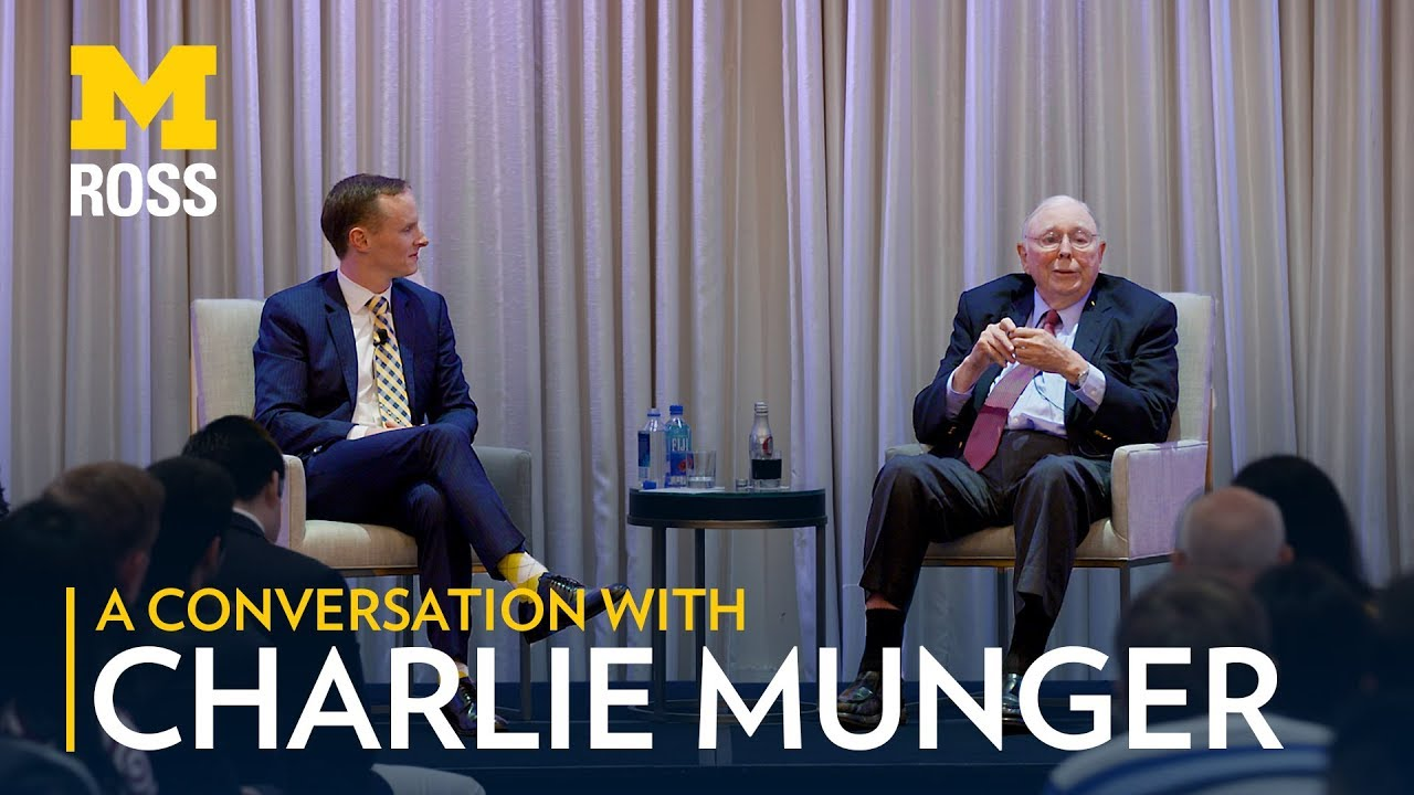 Charlie Munger at the University of Michigan