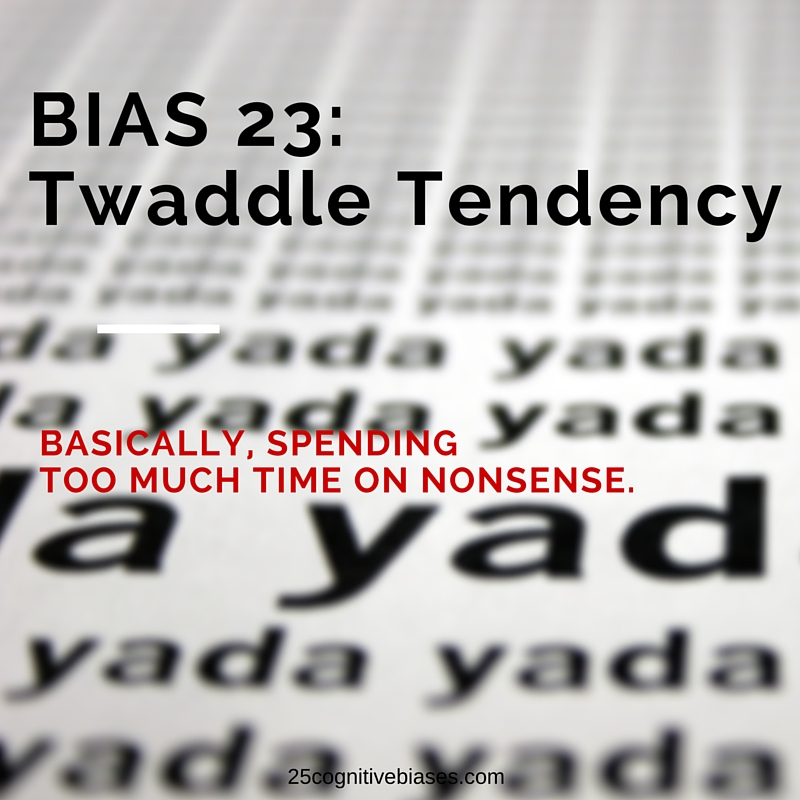 25 Cognitive Biases - Bias 23 Authority-Misinfluence Tendency